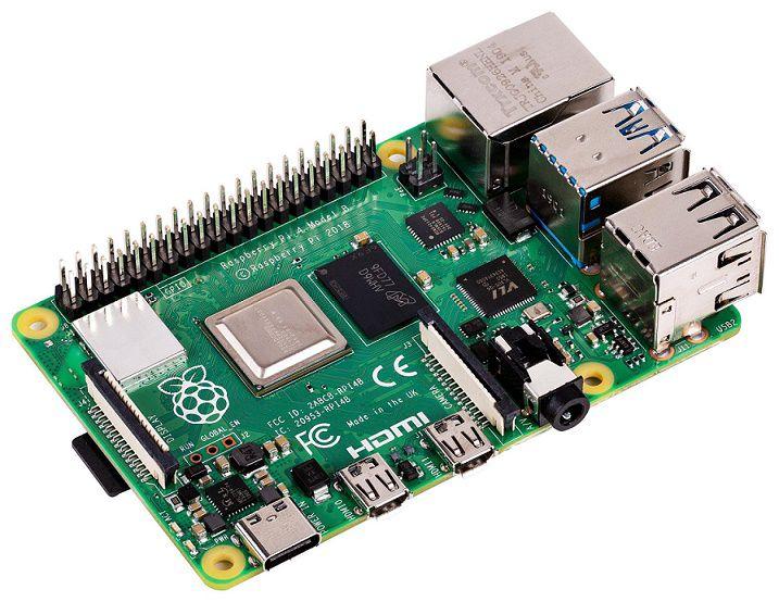 Mini kompiuteris RASPBERRY PI 4 B su 2GB RAM