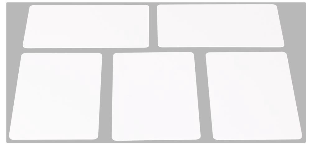 Bevielio rakto RFID kortelė (komplekte 5vnt), 13.56MHz
