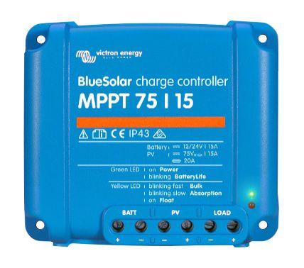 Įkrovimo valdiklis BlueSolar MPPT 75/15