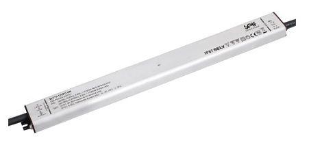 Impulsinis maitinimo šaltinis LED 24V 4.17A, IP67, 16.5x29.8x340mm, SELF