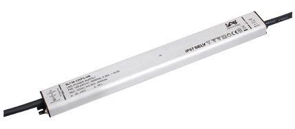Impulsinis maitinimo šaltinis LED 12V 2.5A, IP67, 16.5x30x275mm, SELF