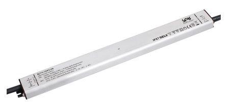 Impulsinis maitinimo šaltinis LED 12V 6.25A, IP67, 16.5x30x333mm, SELF