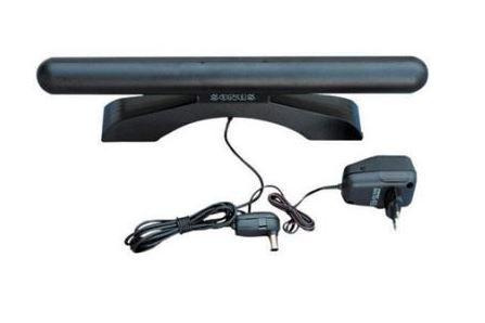 FM kambarinė antena su reguliuojamu stiprintuvu 18dB, SONUS SOLO RoHS