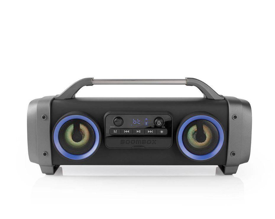 Nešiojama Bluetooth kolonėlė 60W (26W RMS) su šviesos efektais