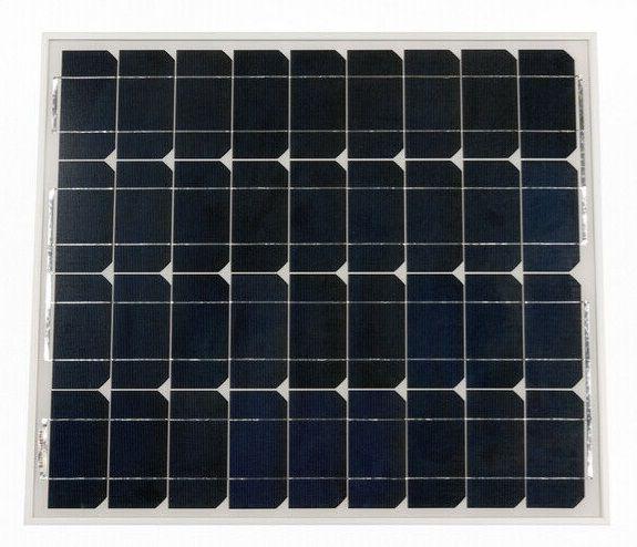 Saulės monokristalinis modulis 55W 18.8V 2.94A, 545x668x25mm