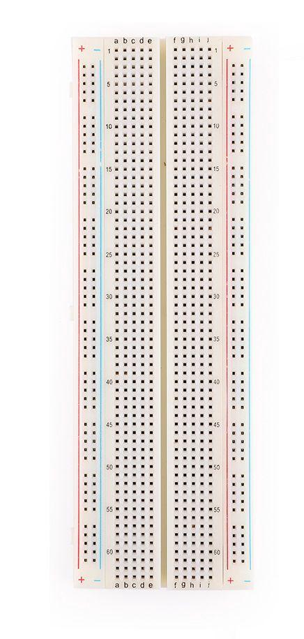 Eksperimentinė plokštė maketavimui 830 kontaktų