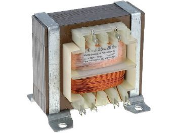 Transformatorius 230V/2x12V 2x1.05A su laikikl. INDEL