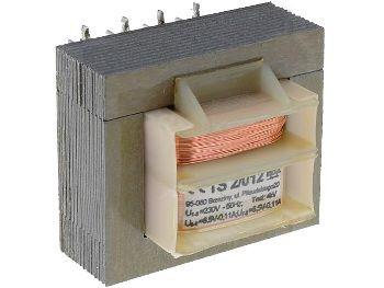 Transformatorius 230V/6V 0.22A INDEL