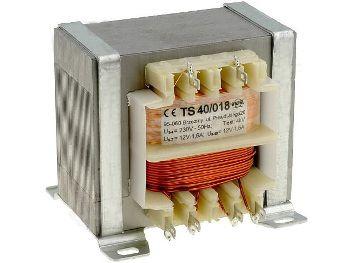 Transformatorius 230V/24V 1.5A su laikikl. INDEL
