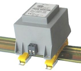 Transformatorius montuojamas ant DIN bėgelio 230V/24V 0.67A INDEL