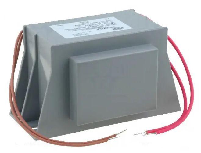 Transformatorius korpuse 230V/17V 2.09A, su laidais, INDEL