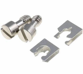 Varžtų rinkinys su tvirtinimo plokštelėmis UNC4-40, 3mm sriegis