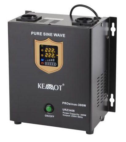 Nepertraukiamo maitinimo šaltinis 300W 12V/230Vac sinusas, stacionarus