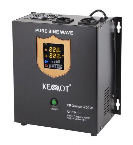 Nepertraukiamo maitinimo šaltinis 700W 12V/230Vac sinusas, stacionarus