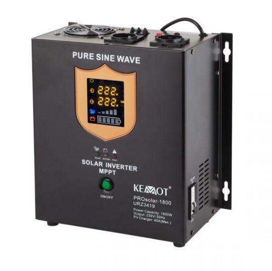 Nepertraukiamo maitinimo šaltinis 1800W 24V/230Vac sinusas, PROsolar-1800