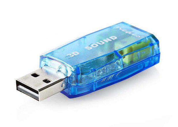 Išorinis USB 2.0 garso adapteris 3D 5.1