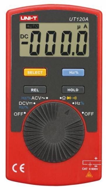 Multimetras UT120A CATII su dažnio matavimu, diodų tikrinimu UNI-T
