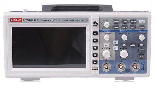 Osciloskopas UTD2052CL 50MHz 2 kanalų UNI-T
