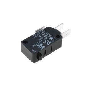 Mikrojungiklis ON-(ON) nefiks, 3k. 22A/250VAC, SPDT 27.8x10.3x15.9mm 6.3mm kontaktai, be svirtelės