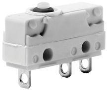Mikrojungiklis ON-(ON) nefiks, 3k. 5A/250VAC, SPDT 20x17.5x6.4 mm, lituojamais kontaktais, be svirtelės, IP67 SAIA-BURGESS