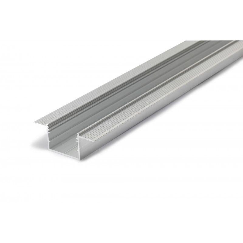 Profilis aliuminis anoduotas LED juostoms, priglaistomas, gilus, VARIO30-05, 3m, TOPMET