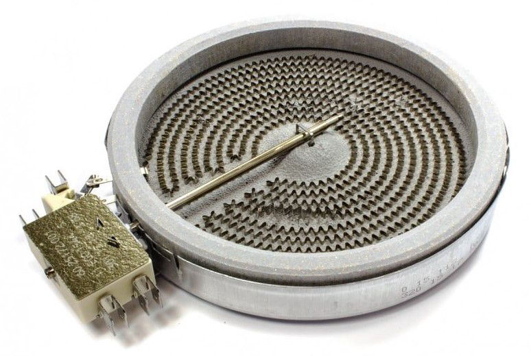 Kaitinimo elementas keram. Ø160/140mm 1200W 230V dvigubais kontaktais
