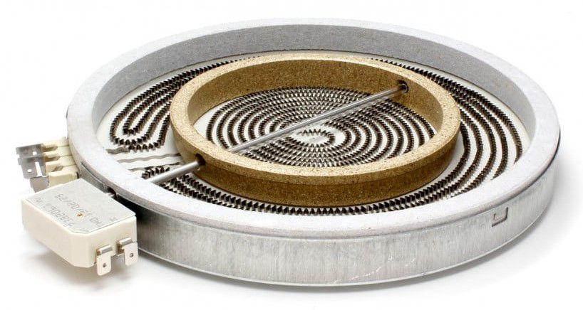 Kaitinimo elementas Ø230mm 2100/700W 481231018895 WHIRLPOOL