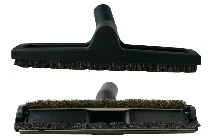 Dulkių siurblio šepetys parketui Ø35mm su ratukais