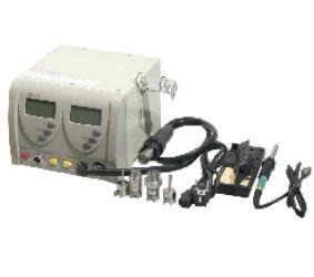 Kombinuota litavimo stotelė, karšto oro įrankis ir lituoklis 230Vac  ZD-912
