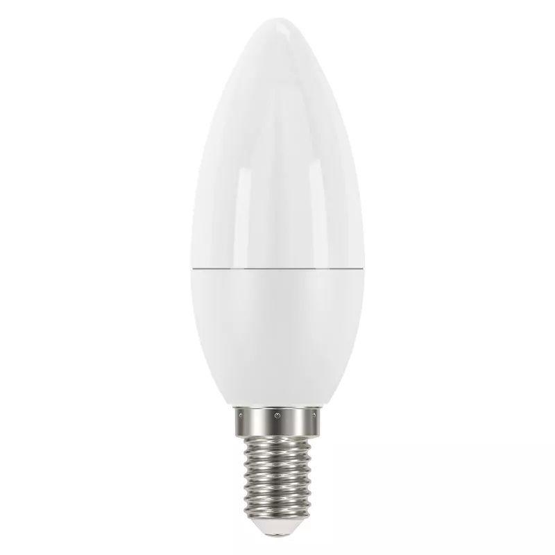 LED lemputė E14 230V 6W 470lm, žvakės formos, šiltai balta, 2700K, EMOS