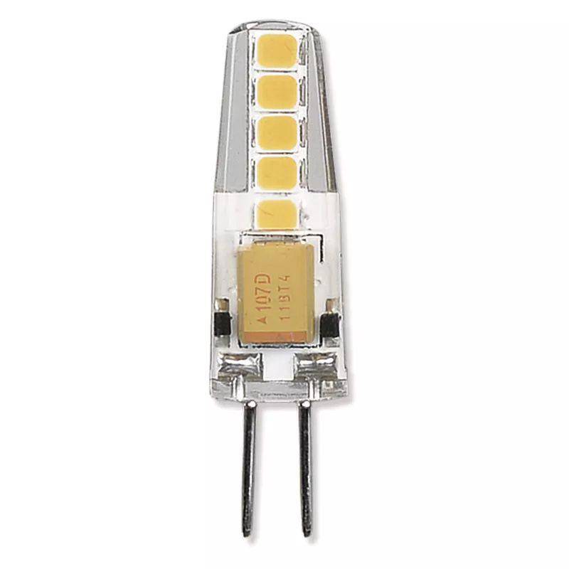 LED lemputė G4 12V JC 2W 210lm, šiltai balta, 3000K, A++, EMOS
