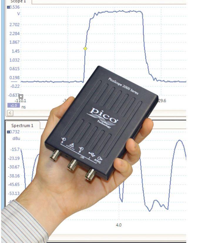 Osciloskopas PicoScope 2205A 2 kanalai; 25MHz, PICO