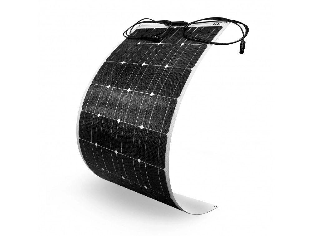 Lankstus saulės monokristalinis modulis 100W 18V 5.56A, 1200x540mm