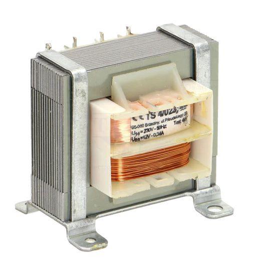 Transformatorius 230V/12V 0.33A su laikikl.  INDEL