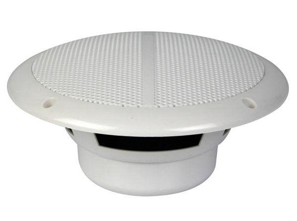 Drėgmei atsparūs lubiniai garsiakalbiai plastikiniu korpusu 120W ø180mm (2 vnt), balti
