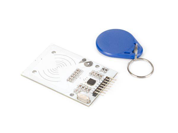 Bevielių raktų MiFare RFID nuskaitymo - rašymo modulis suderinamas su Arduino