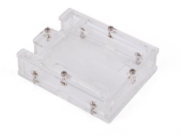 Skaidri dėžutė Arduino Uno mikrovaldikliui