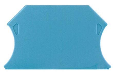 Gala plate WAP 2,5-10 BL, piemērota skrūvētam savienojumam līdz 10 mm², W-sērija, tumša bēša, Weidmuller