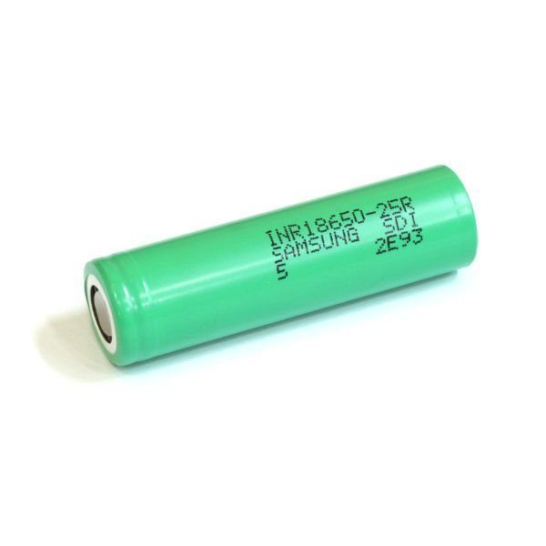 Akumulators 18650 3.6V 2500mAh Li-ion SAMSUNG INR 18650 25R, der Elektroniskām cigaretēm