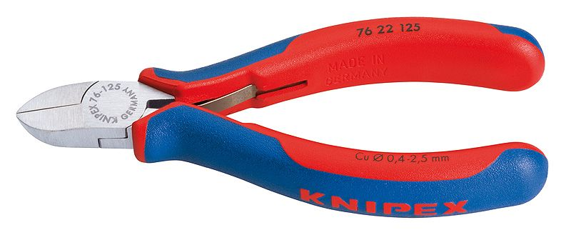 Knaibles 76 22 125 Cu max Ø2,5mm KNIPEX