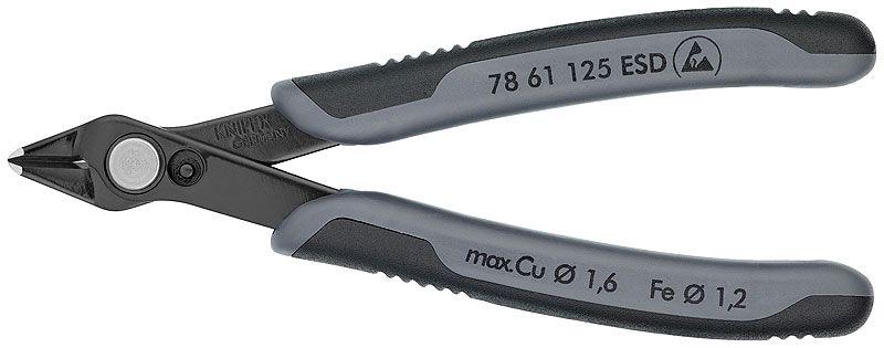 Knaibles 78 61 125 ESD Cu max 1,6 Ø mm Al max 1,2 Ø mm KNIPEX