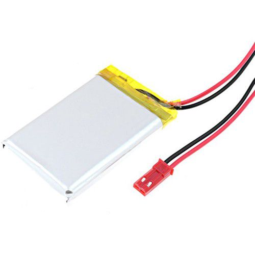 LiPo cell 3.7V 980mAh 5.7x34x50mm with PCM, with JST terminal (LP573450) AKYGA