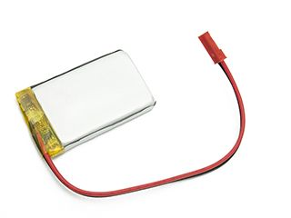LiPo cell 3.7V 1200mAh  6.0x34x50mm with PCM, with JST termina (LP603450) AKYGA