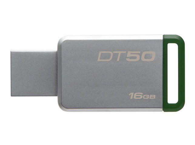 Zibatmiņa 16GB USB3.0 DataTraveler 50, KINGSTON