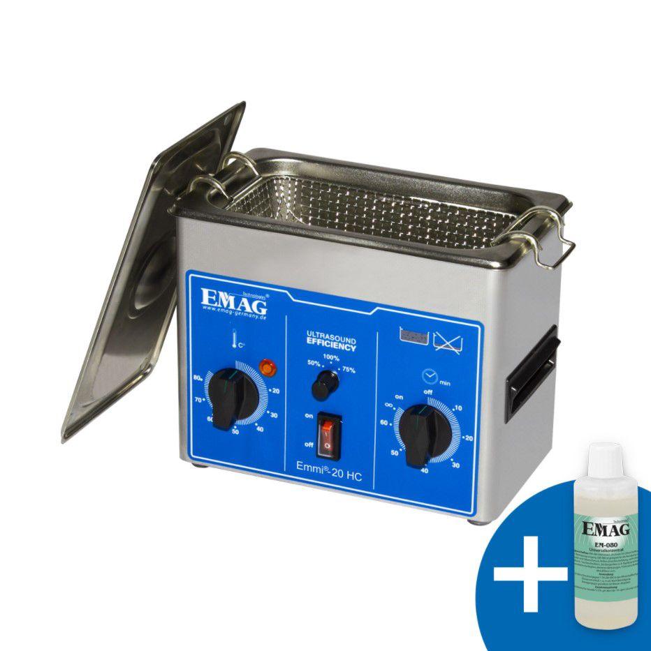 Ultraskaņas vanna 2l 150W ar taimeri EMAG