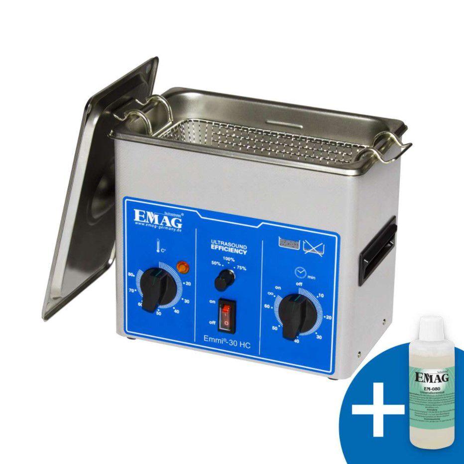 Ultraskaņas vanna 3l 200W ar taimeri EMAG