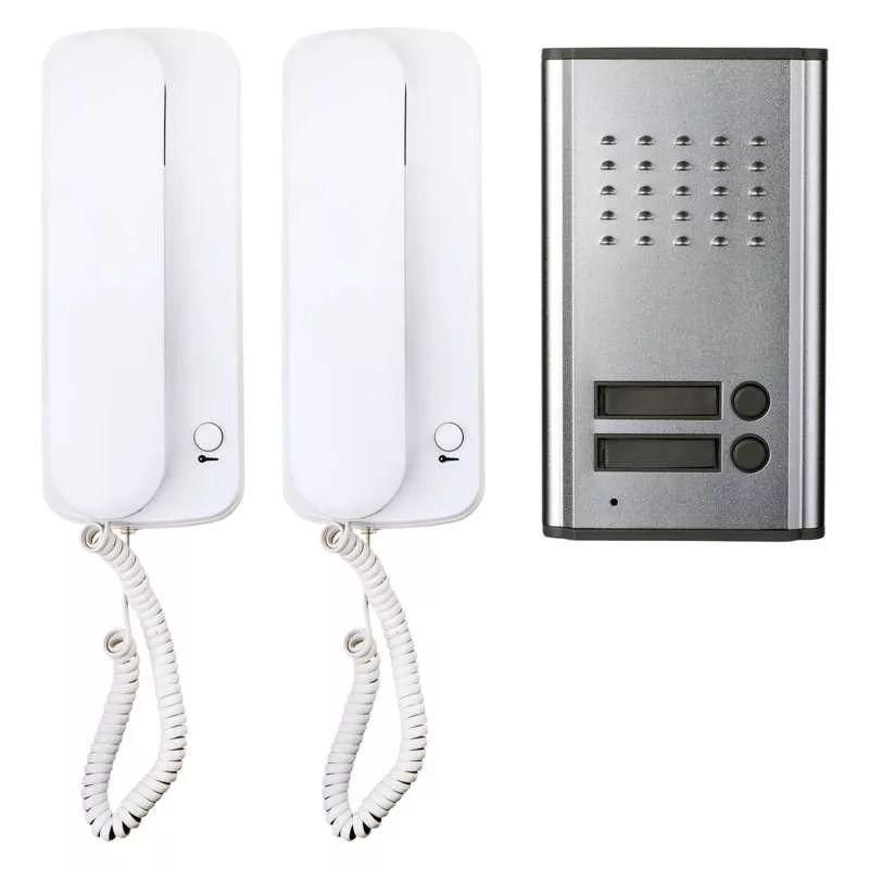 Audio door phone set (intercom), 2 participants, H1086, EMOS