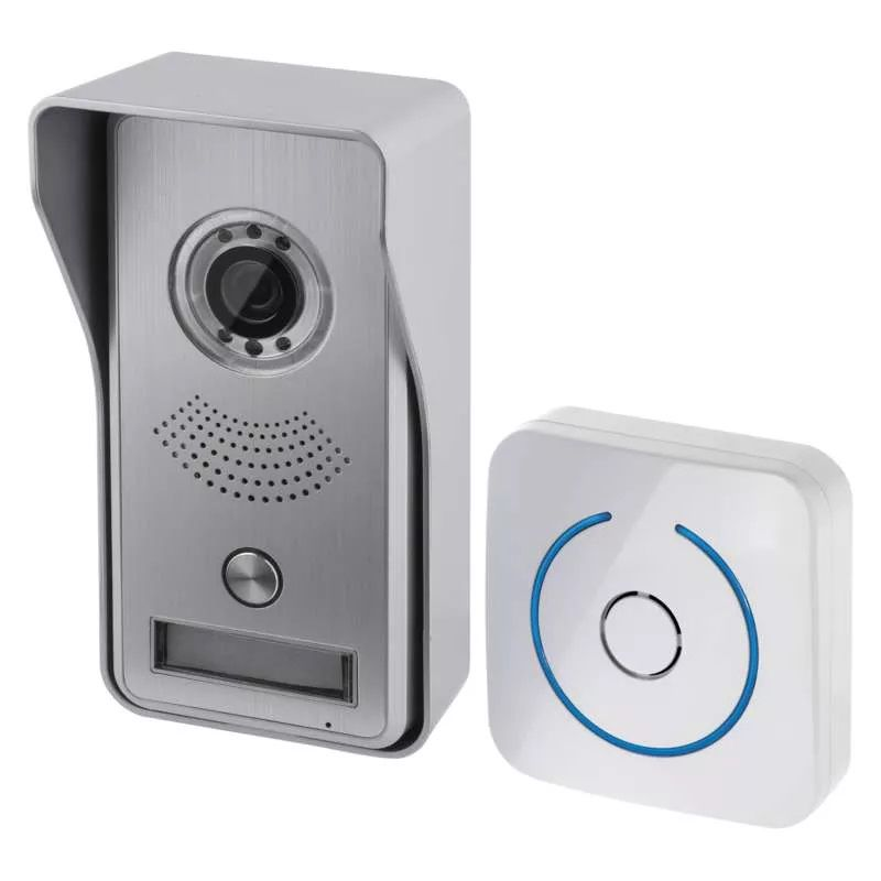 Wireless door camera for smartphone, 720P, PIR, LAN/Wi-Fi, H1139, EMOS