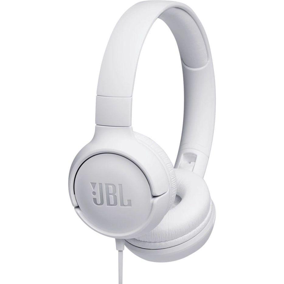 On-Ear Headphones JBL TUNE 500, White