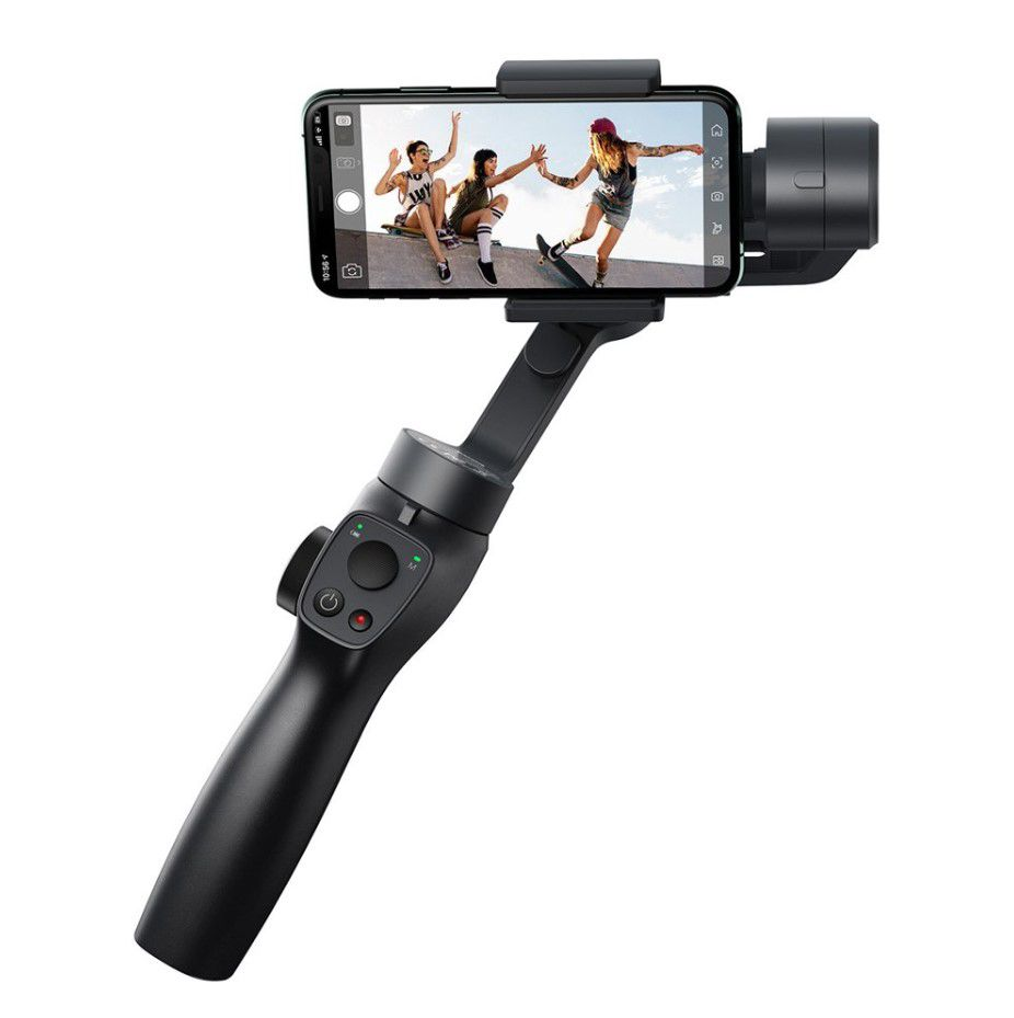 Bluetooth Selfie Stick - 3-axis Stabilizer for Smartphone
